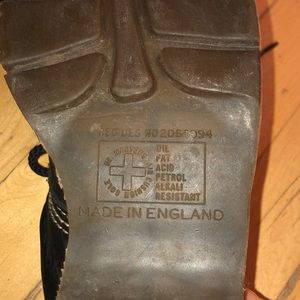 Dr. Martens Shoes - Vintage Dr Martens leather lace up shoes